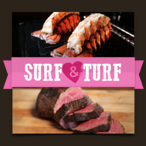 valentines day surf & turf gift box